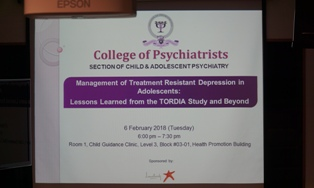 EVENT HIGHLIGHTS: Section Of Child & Adolescent Psychiatry